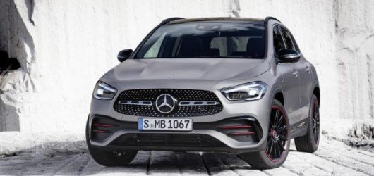 New Mercedes Benz GLA Hatchback